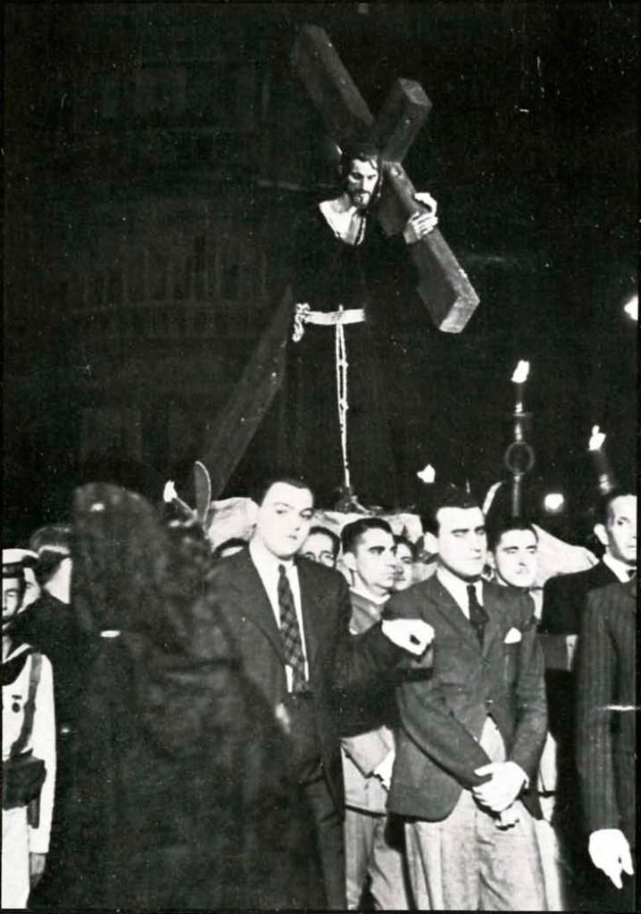 Primera salida procesional Nazareno del Paso
